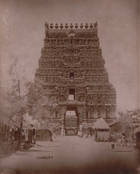 Main entrance gopura of the Nageshvara Temple, Kumbakonam